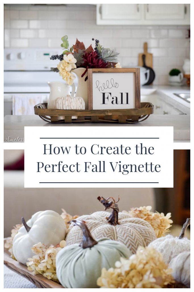 How to Create a Perfect Vignette for Fall - Fall Festival Blog Hop 10