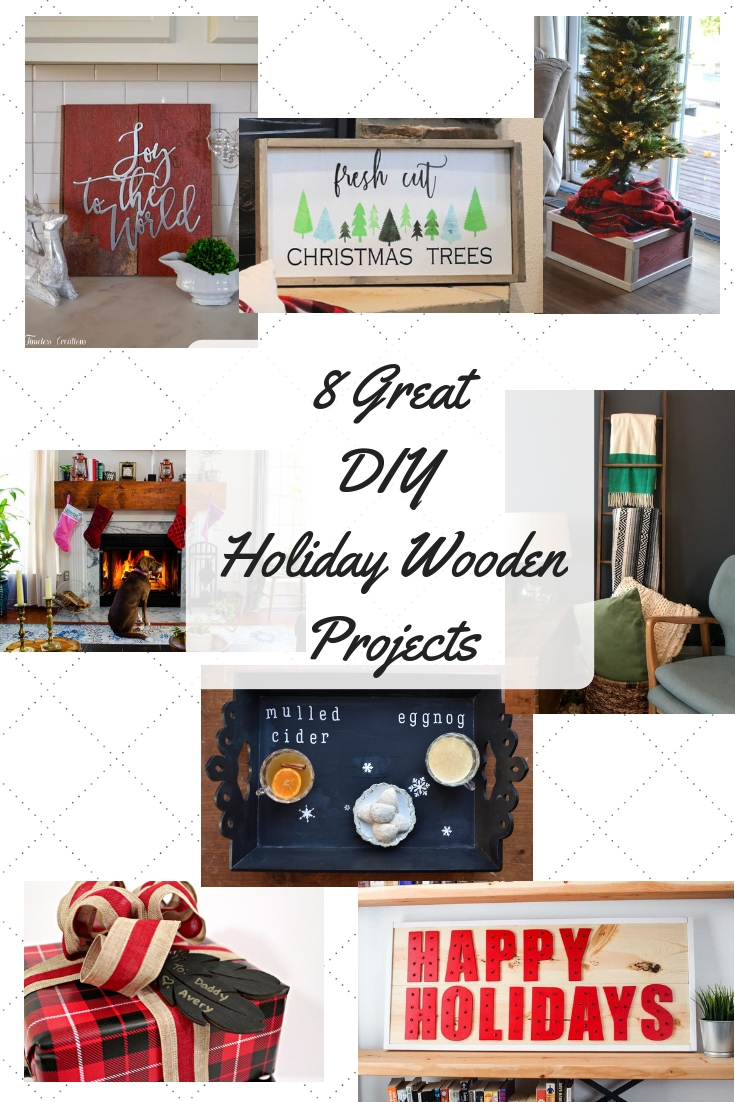 8 Great Wooden Holiday Decorations 1