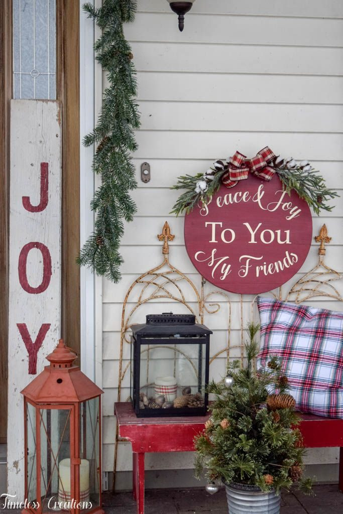 Decorating your Outdoor Space for the Holidays - Deck The Home Blog Hop 3
