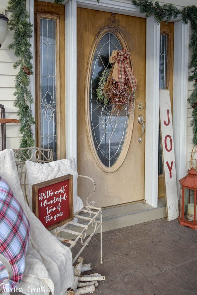 Decorating your Outdoor Space for the Holidays - Deck The Home Blog Hop 2