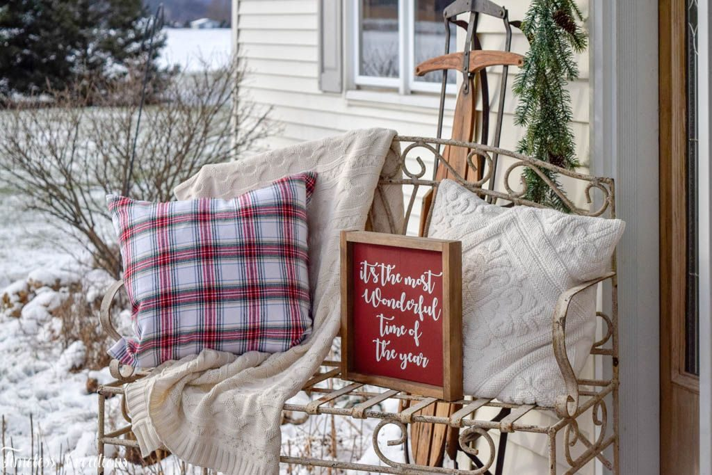 Decorating your Outdoor Space for the Holidays - Deck The Home Blog Hop 4