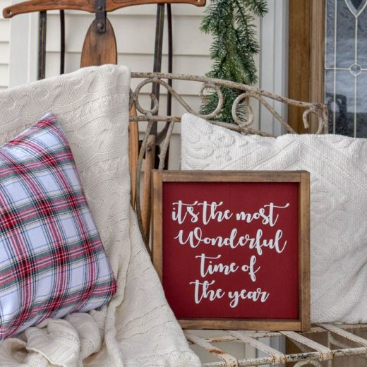 Decorating your Outdoor Space for the Holidays - Deck The Home Blog Hop 114