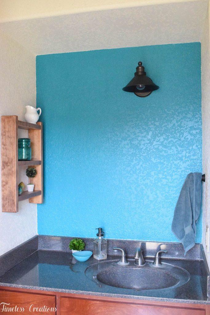 Easy DIY Ladder Shelf - $100 Room Challenge Week 3 8