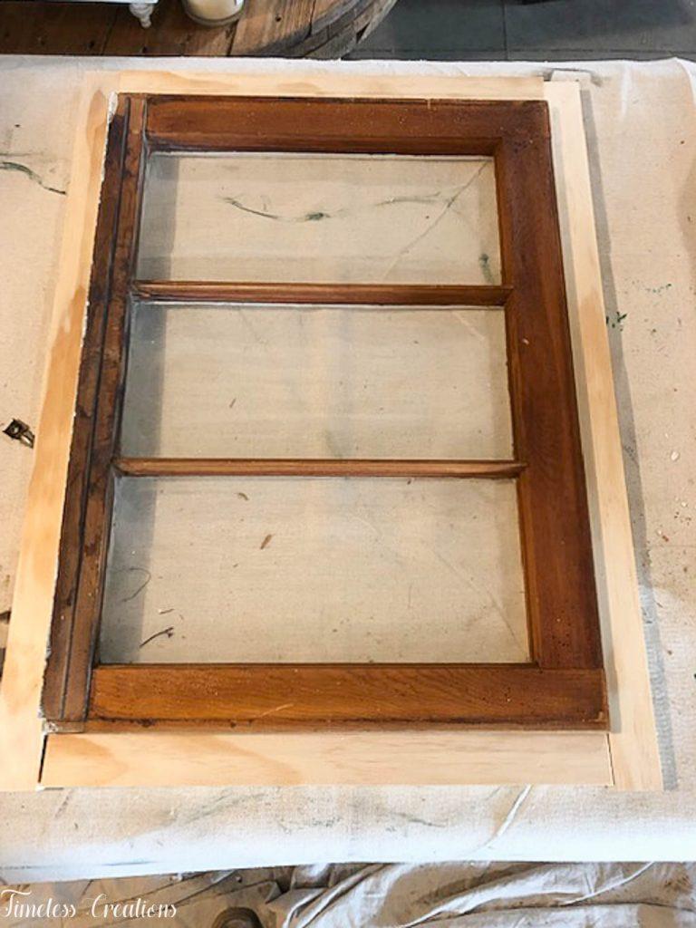 DIY Window Wall Cabinet - $100 Room Challenge Week 4 3
