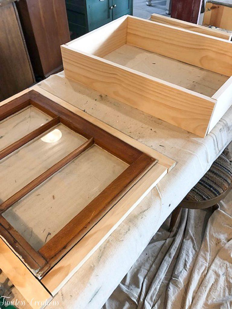 DIY Window Wall Cabinet - $100 Room Challenge Week 4 4