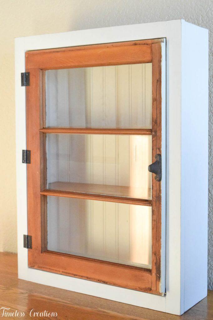 DIY Window Wall Cabinet - $100 Room Challenge Week 4 6