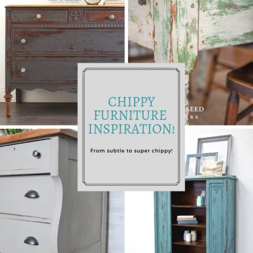"""""""The Chippy Look"""" with Milk Paint 61"""
