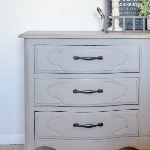 Master Bedroom Dresser Makeover - One Room Challenge Week 2 72