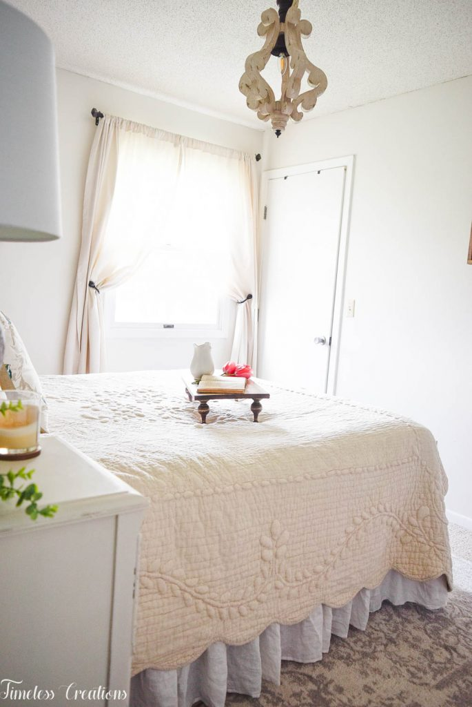 French Farmhouse Bedroom Makeover - One Room Challenge Reveal 8