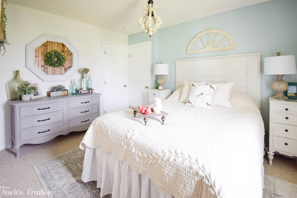 French Farmhouse Bedroom Makeover - One Room Challenge Reveal 10