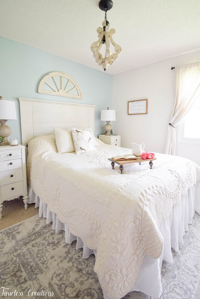 French Farmhouse Bedroom Makeover - One Room Challenge Reveal 15