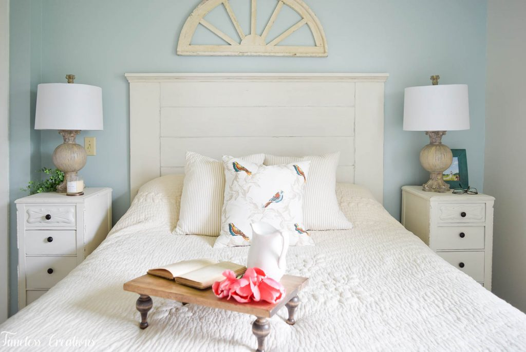 French Farmhouse Bedroom Makeover - One Room Challenge Reveal 11