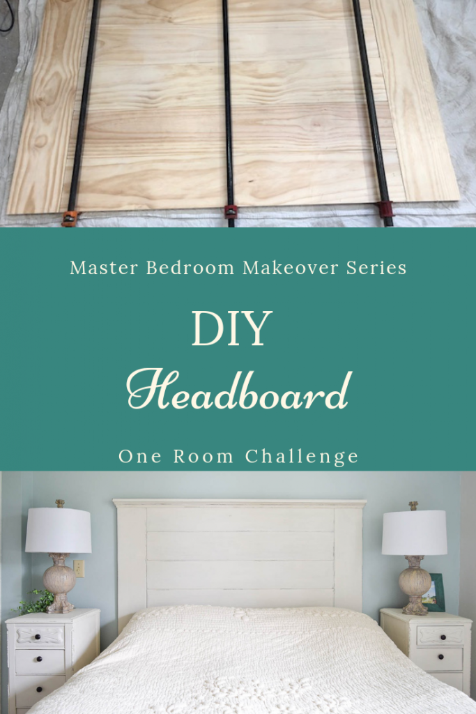 DIY Headboard for the French Farmhouse Master Bedroom Makeover