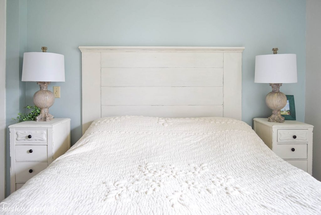 DIY Headboard for the Master Bedroom - One Room Challenge 21