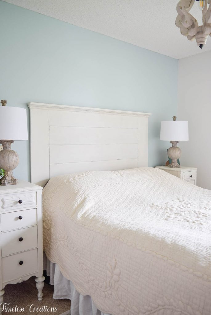 DIY Headboard for the Master Bedroom - One Room Challenge 23