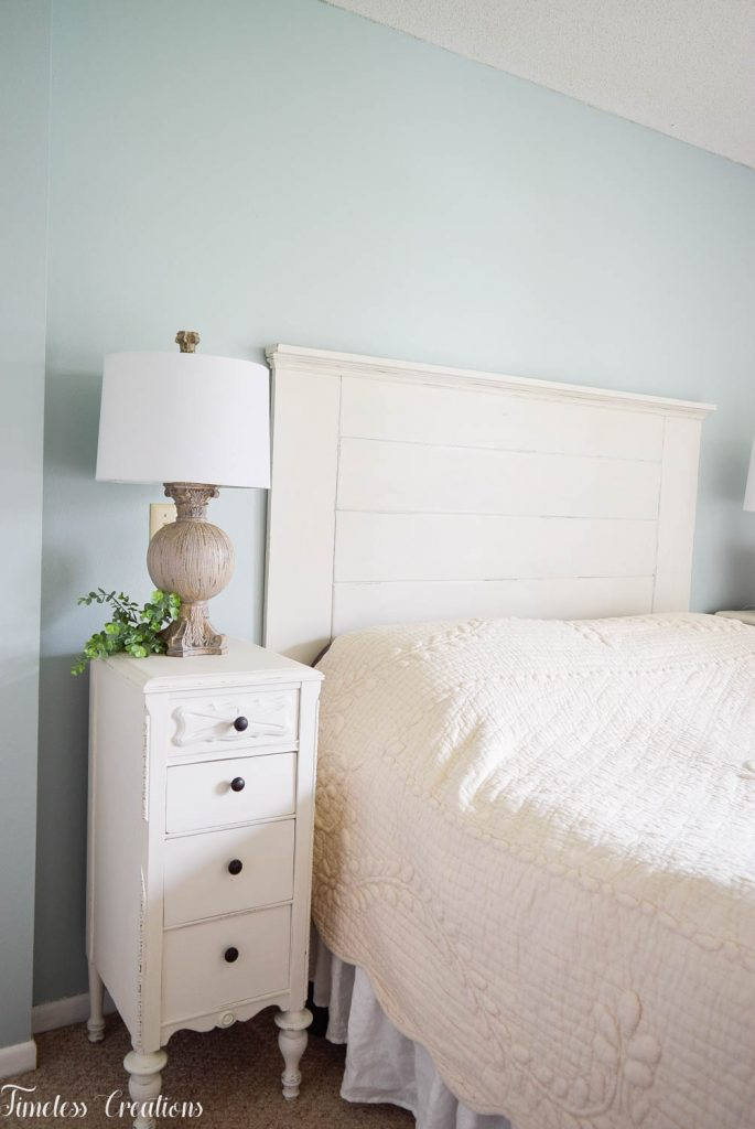 DIY Headboard for the Master Bedroom - One Room Challenge 19