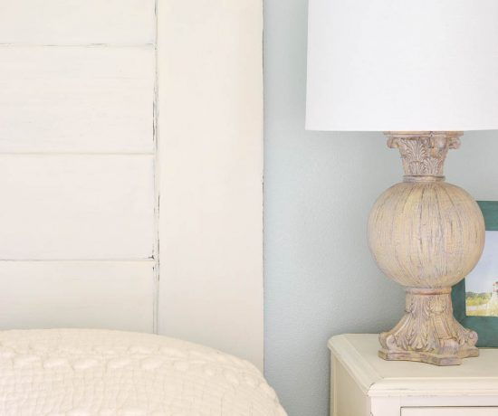 DIY Headboard for the Master Bedroom - One Room Challenge 2