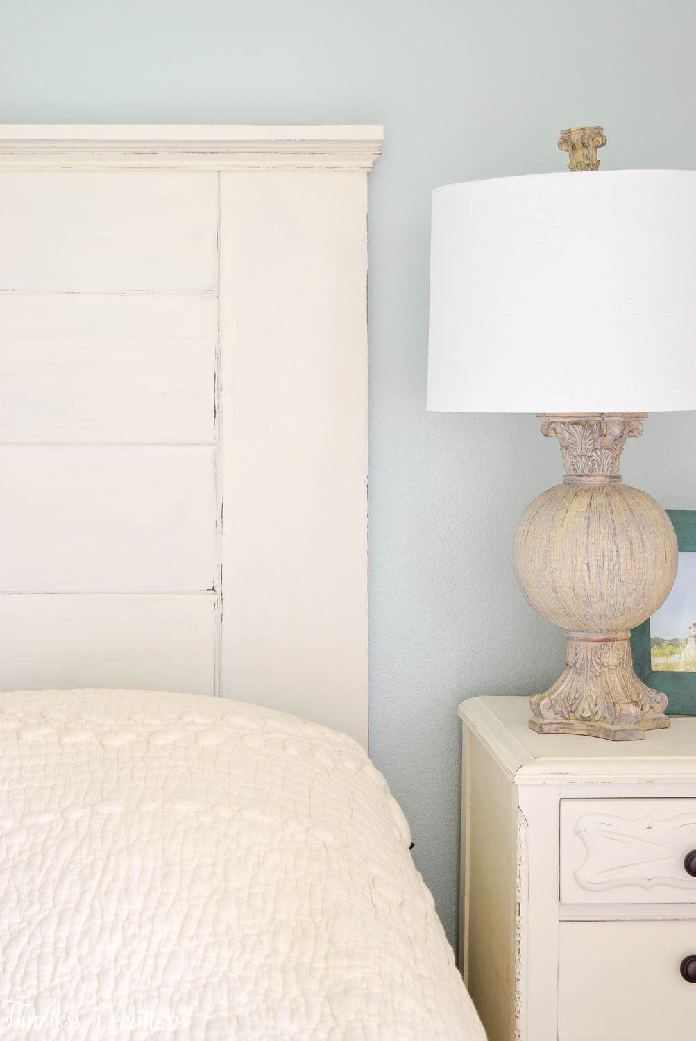 DIY Headboard for the Master Bedroom - One Room Challenge 1
