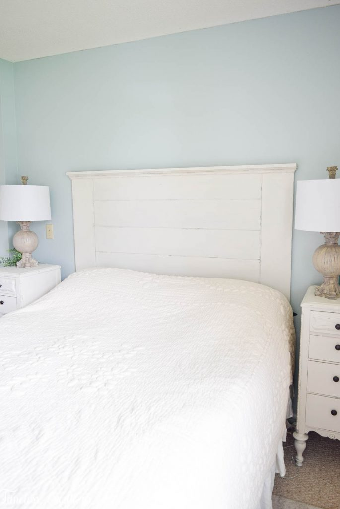 DIY Headboard for the Master Bedroom - One Room Challenge 24