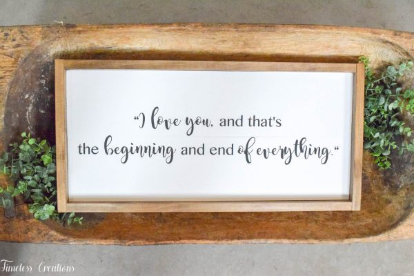 Farmhouse Wooden Sign or Plaque / Handmade, Solid Wood Quote sign 1