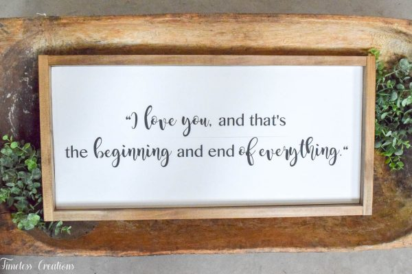 Farmhouse Wooden Sign or Plaque / Handmade, Solid Wood Quote sign 2