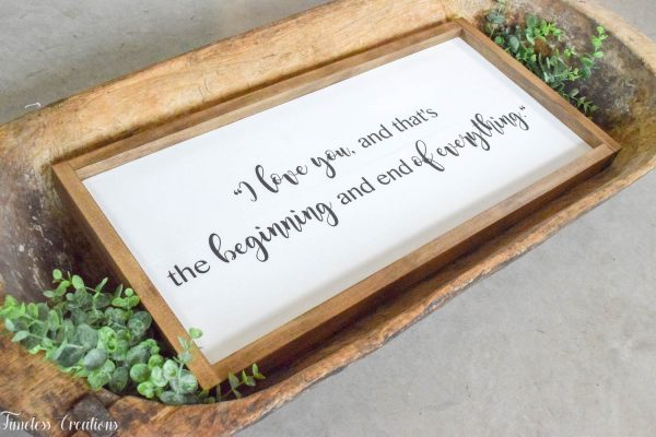 Farmhouse Wooden Sign or Plaque / Handmade, Solid Wood Quote sign 3