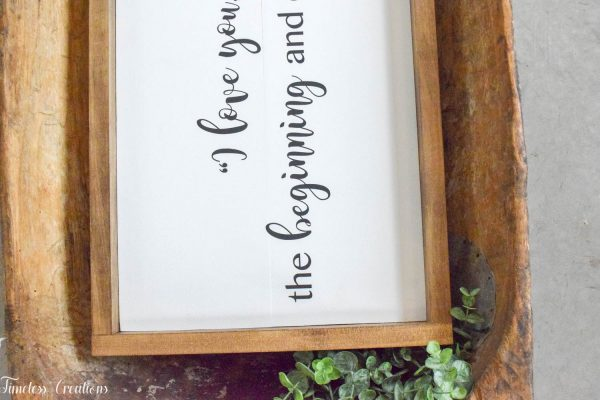 Farmhouse Wooden Sign or Plaque / Handmade, Solid Wood Quote sign 4