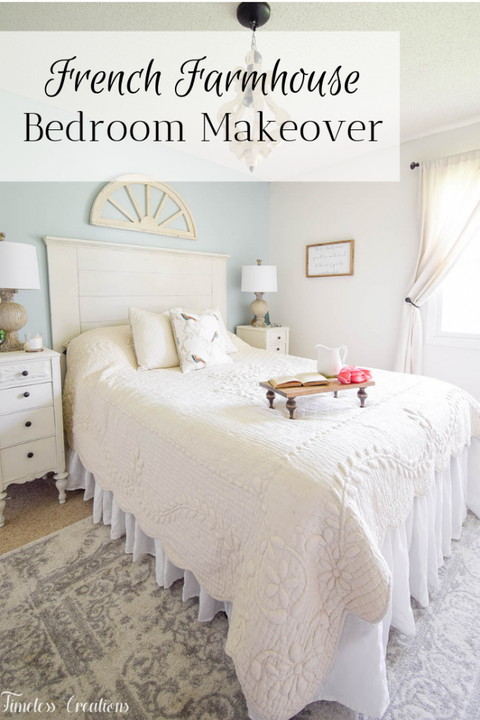 French Farmhouse Bedroom Makeover - One Room Challenge Reveal 7