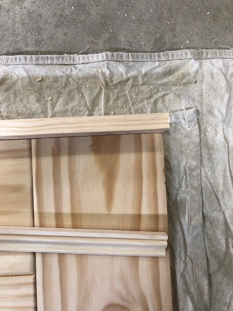DIY Headboard for the Master Bedroom - One Room Challenge 13