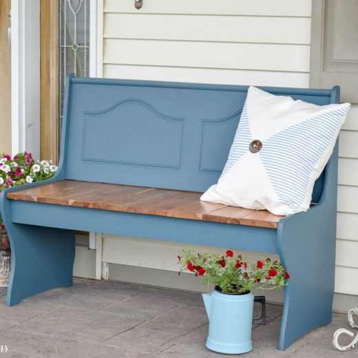 Planked Bench - And a New Paint! 60