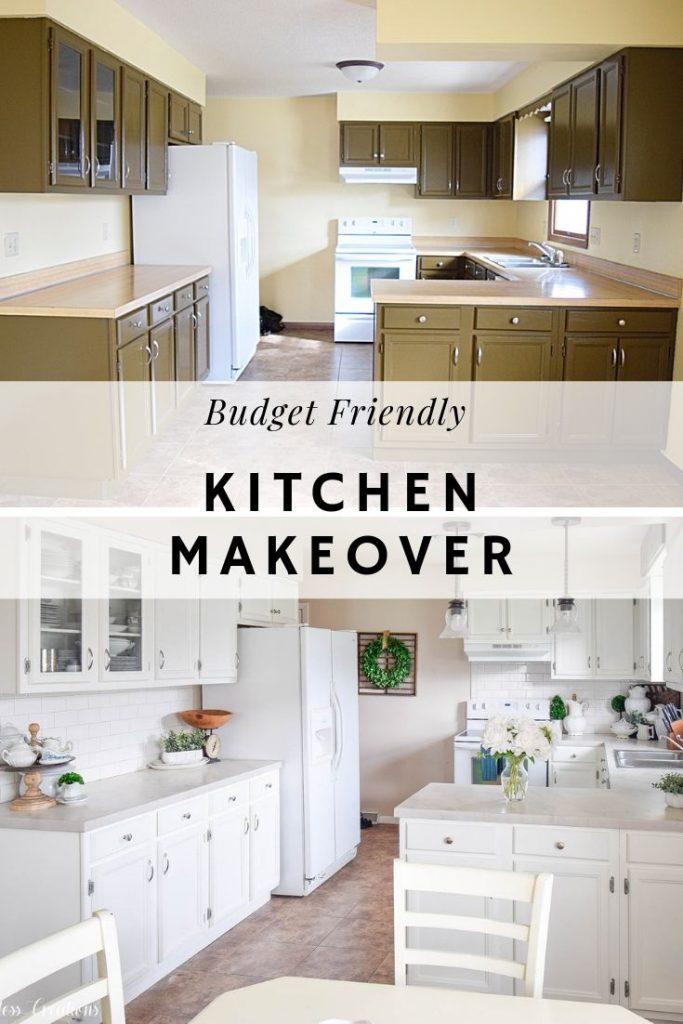 A Budget Friendly Kitchen Makeover 14