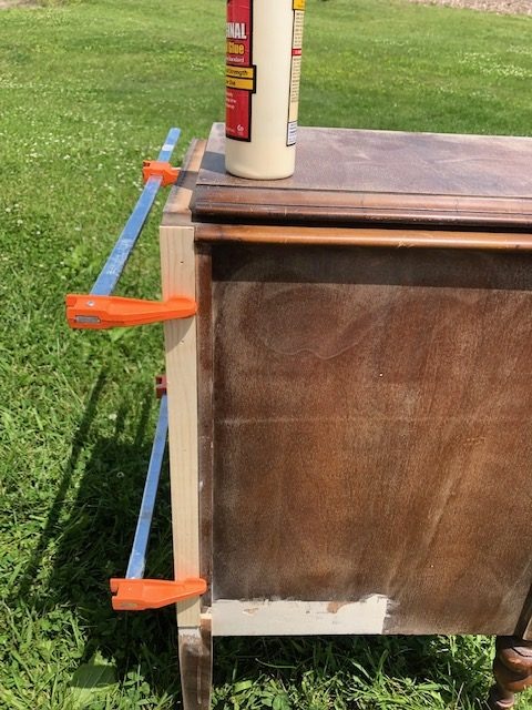 How To: Take apart an old Vanity for Nightstands 13