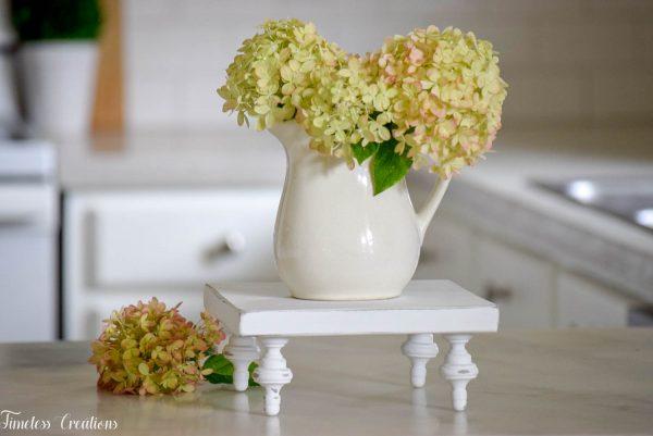 Small Farmhouse Riser / Pedestal Tray 14