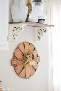 Places to Hang a Wreath that's NOT on the Door! 3