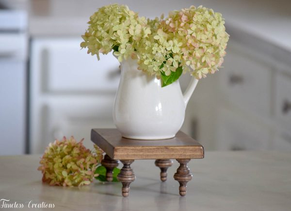 Small Farmhouse Riser / Pedestal Tray 4