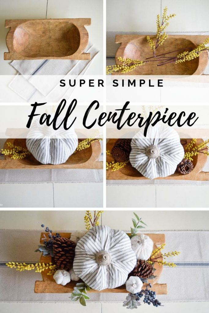 Simple Fall Centerpiece for Everyday Use 11