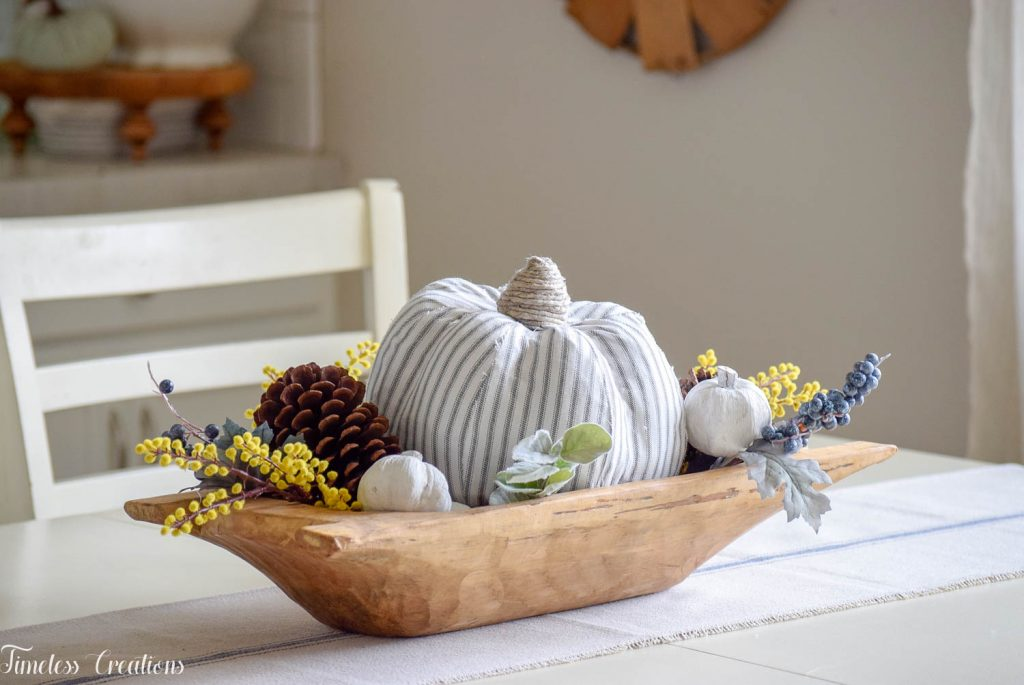 Simple Fall Centerpiece for Everyday Use 7