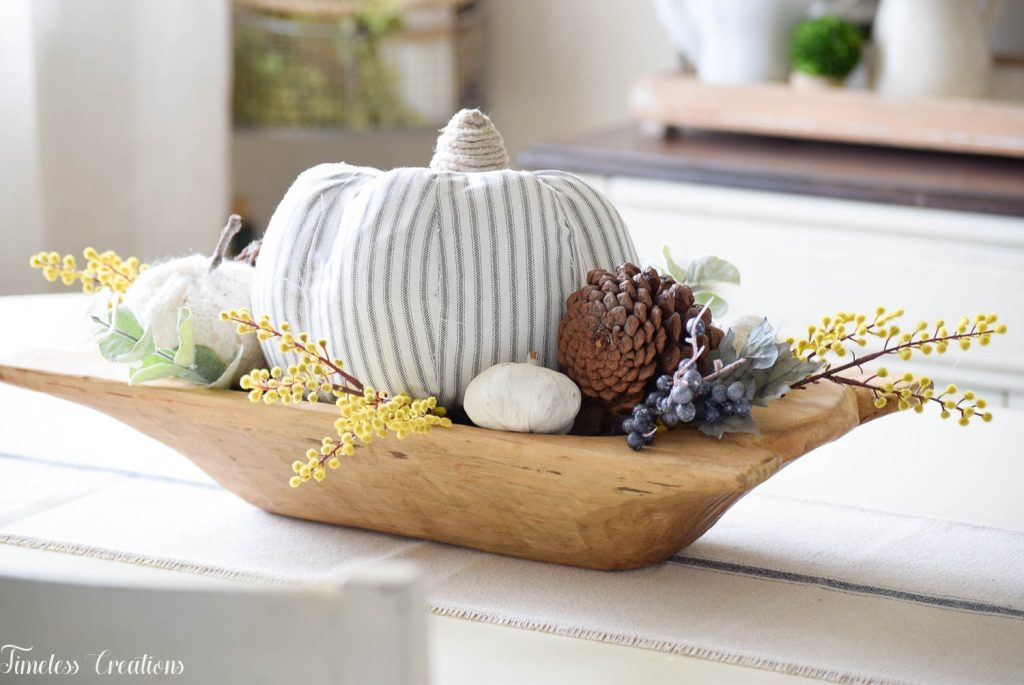 Simple Fall Centerpiece for Everyday Use 8