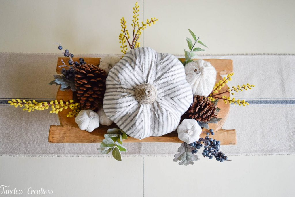 Simple Fall Centerpiece for Everyday Use 6