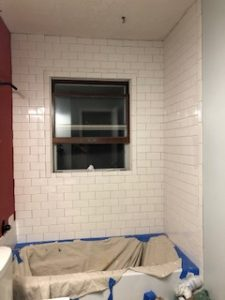 Tiling the Shower Surround - One Room Challenge 4