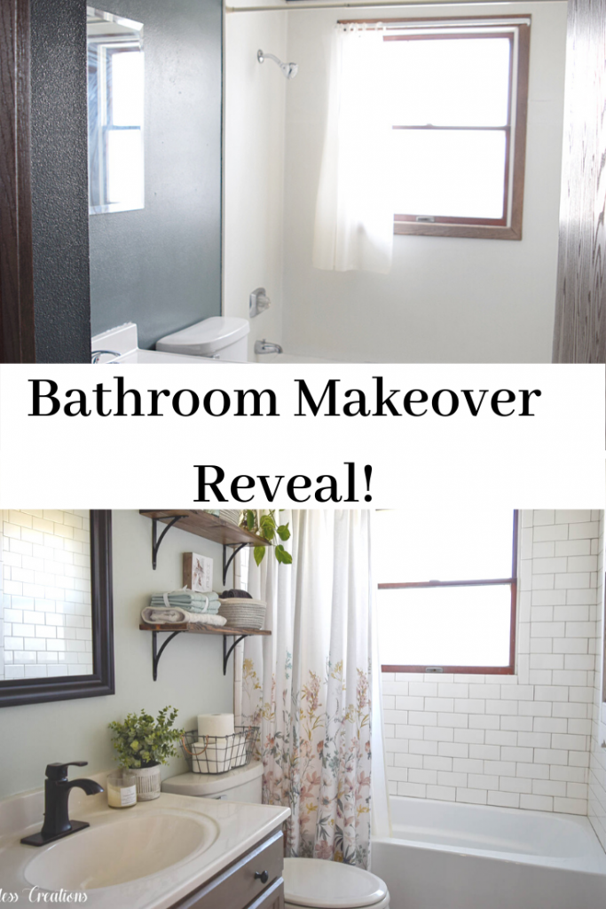 Bathroom Makeover Reveal at Kristen's House- One Room Challenge 7