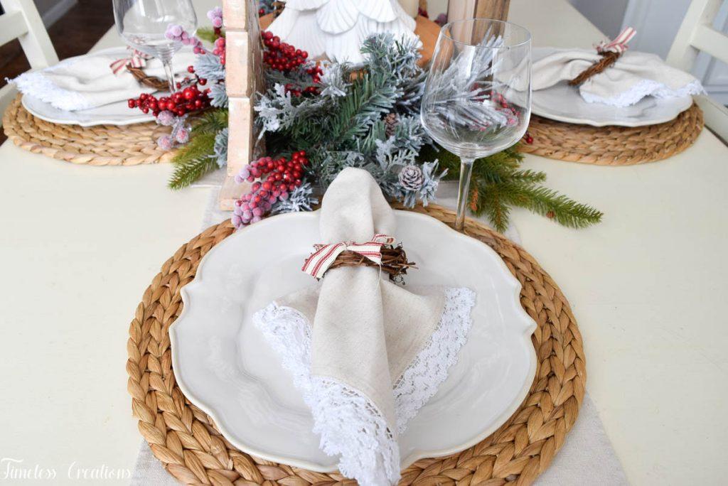 Setting a Table for Christmas 3