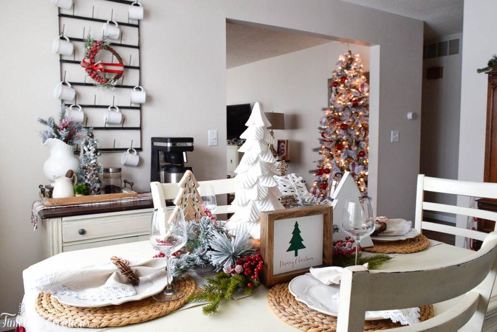 Setting a Table for Christmas 12