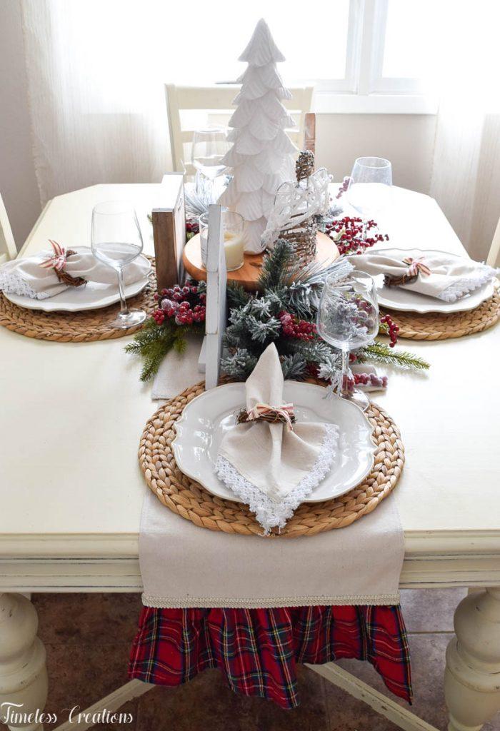 Setting a Table for Christmas 2