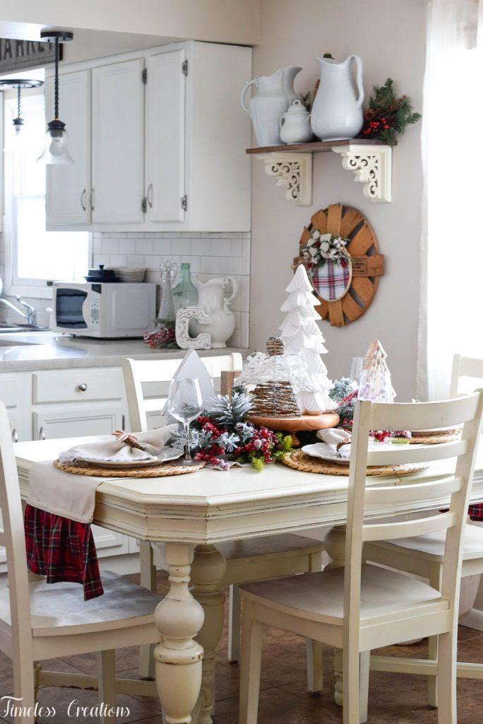 Setting a Table for Christmas 1
