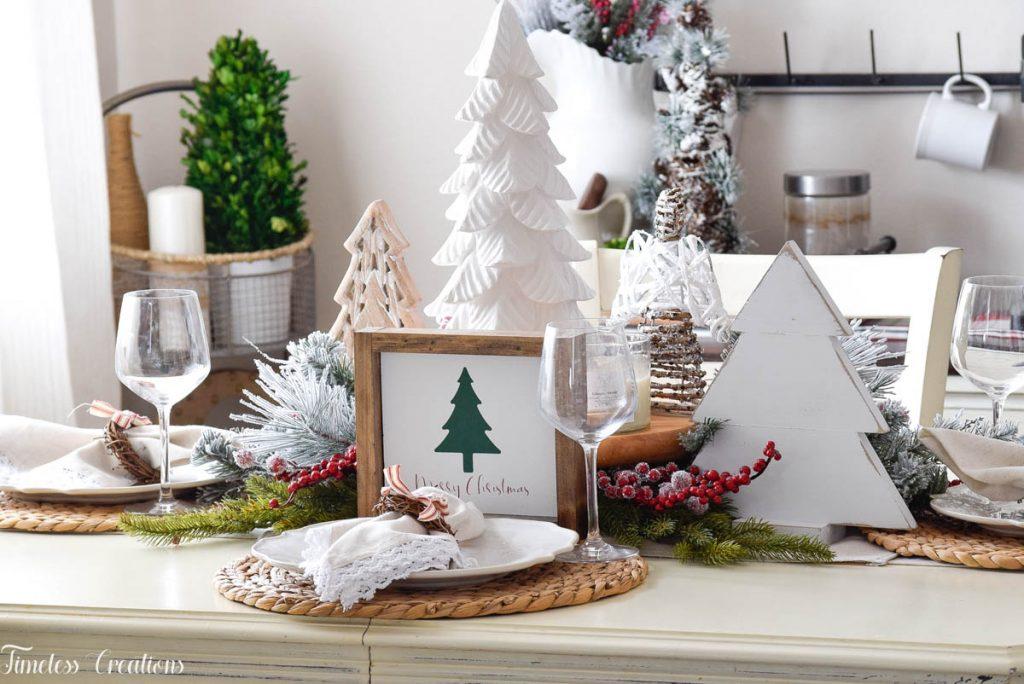 Setting a Table for Christmas 4
