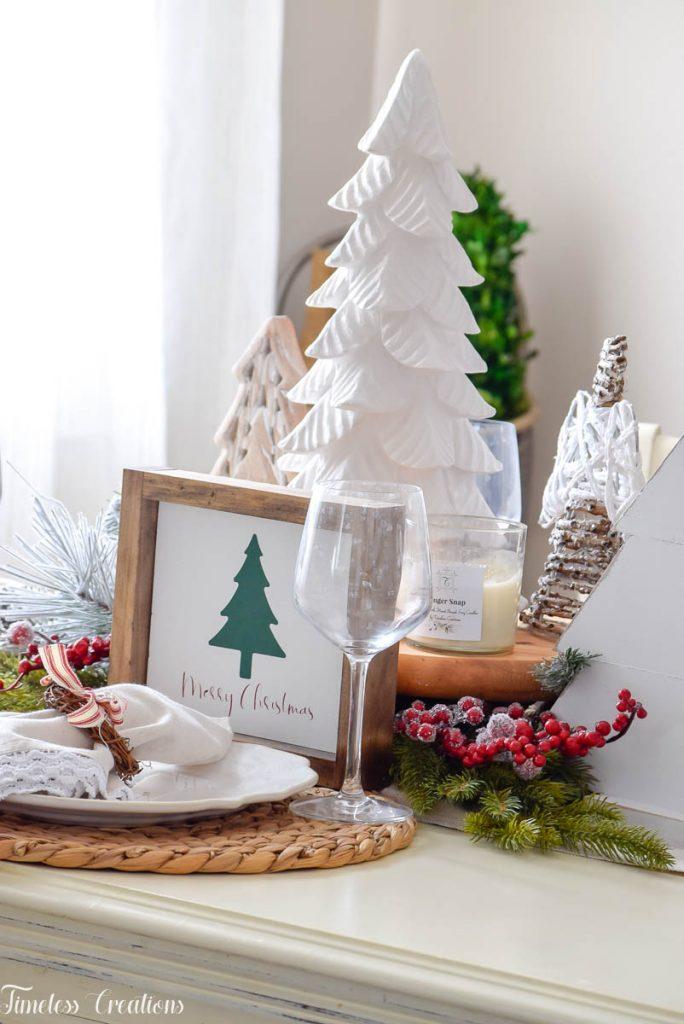 Setting a Table for Christmas 7