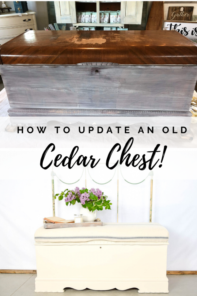 An Upholstered Cedar Chest 8