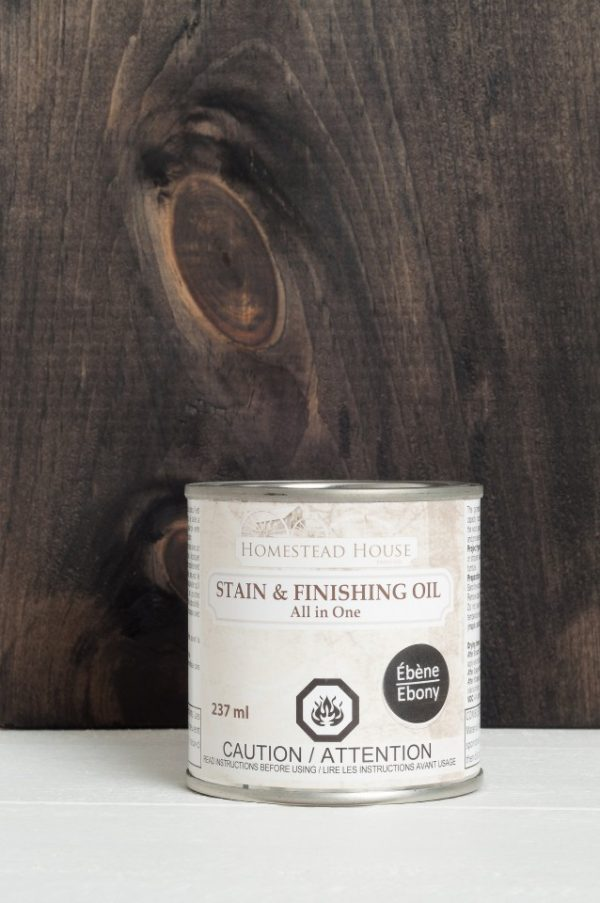 Fusion Stain and Finishing Oil -Ebony 1