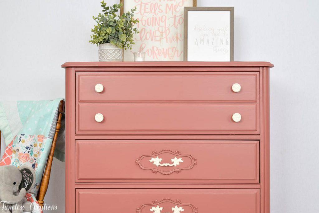 An Enchanted PINK Dresser! 4